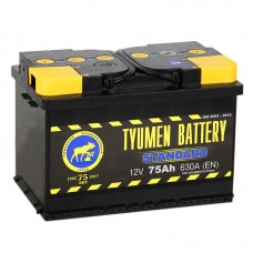 TYUMEN BATTERY 75 A/h Пусковой ток EN660А Обратный-+