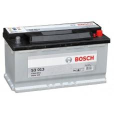 BOSCH S3 90 A/h Пусковой ток EN720А Обратный-+