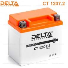 Аккумулятор Delta CT 1207.2 (YTX7L-BS) 7Аh EN130 Обратная-+