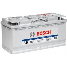 Аккумулятор BOSCH AGM 105 Ah Обратный[-+]