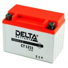 Аккумулятор Delta CT 1211(YTZ12S) 11Аh EN210 Прямая+-