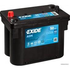 Exide AGM (Start-Stop) 50 A/h Пусковой ток EN800А Обратный -+