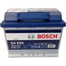 BOSCH S4 EFB 60 A/h Пусковой ток EN560А Обратный-+