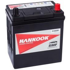 HANKOOK 40 A/h Пусковой ток EN370А Обратный-+