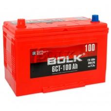 BOLK Азия 100 A/h Пусковой ток EN800А Прямой+-