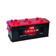 UNIKUM  190 A/h Пусковой ток EN1200А Прямой
