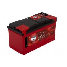 E-LAB 90 A/h Пусковой ток EN780А Обратный -+