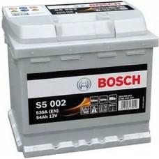 Bosch 52 S5 A/h Пусковой ток EN530А Обратный-+ кубик
