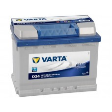 Varta  Blue Dynamic 60 A/h Пусковой ток EN540А Прямой+-