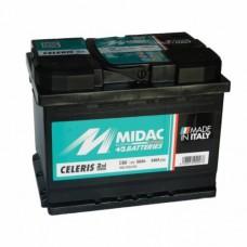MIDAC 60 A/h Пусковой ток EN540А Обратный-+