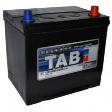 TAB POLAR 65 A/h Азия Пусковой ток EN650А Обратный-+