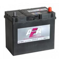 AFA 45 A/h Пусковой ток EN330А Обратный-+