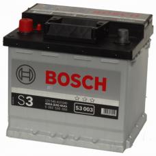 Bosch 45 A/h Пусковой ток EN400А Прямой+- кубик