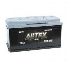 АКТЕХ CLASSIC 100 A/h Пусковой ток EN900А Обратный+-