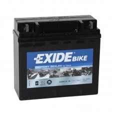 Аккумулятор EXIDE bike (YTX20LBS) 18Ah AGM