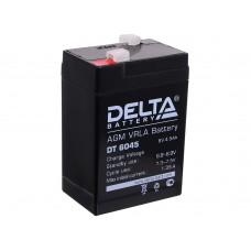 Аккумулятор DELTA 6V 4,5Ач