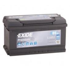 EXIDE PREMIUM 85 A/h Пусковой ток EN800А Обратный-+низкий
