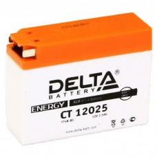 Аккумулятор Delta CT 12025 (YT4B-BS) 12V 2,5Aч