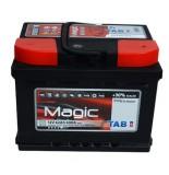 TAB  MAGIC 62 A/h Пусковой ток EN600А Обратный+-низкий