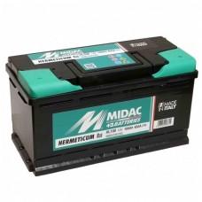 MIDAC AGM 95 A/h Пусковой ток EN850А Обратный-+