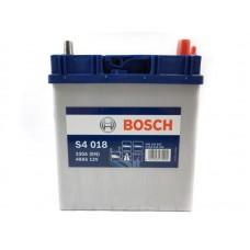 Bosch S4 40 A/h Пусковой ток EN330А Обратный-+