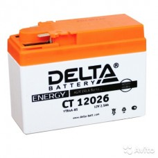 Аккумулятор DELTA  СT 12026 (YTR4A-BS) 12V 2,5Aч