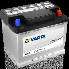 VARTA Стандарт 60 A/h Пусковой ток EN520А Обратный-+