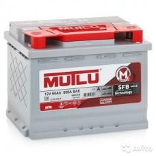 MUTLU SFB 60 A/h Пусковой ток EN540А Обратный-+