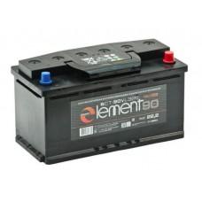 SMART ELEMENT 90 A/h Пусковой ток EN750А Обратный -+