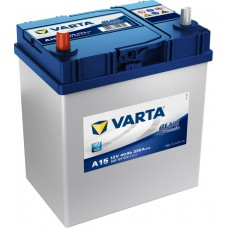 Varta Blue Dynamic 40 A/h Азия Пусковой ток EN330А Прямой+-