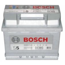 BOSCH S5 63 A/h Пусковой ток EN610А Обратный-+