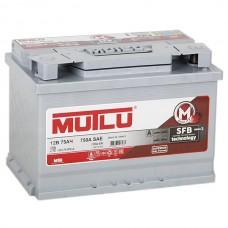Mutlu SFB 75 A/h Пусковой ток EN720А Обратный-+ низкий