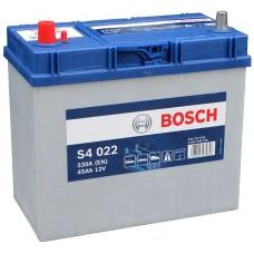 Bosch S4 45 A/h Пусковой ток EN330А Прямой+-