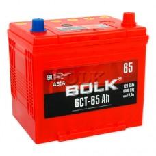 BOLK ASIA 65 A/h Пусковой ток EN600А Прямой+-