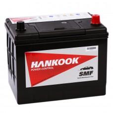 HANKOOK 70 A/h Пусковой ток EN600А Обратный-+
