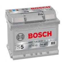 Bosch 52 S5 A/h Пусковой ток EN520А Обратный-+ кубик низкий