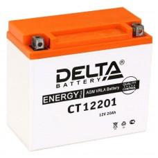 Аккумулятор Delta CT 1220.1 (YTX20L-BS) 20Аh AGM