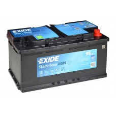 Аккумулятор EXIDE Start-Stop AGM 95 Ah Обратный[-+]