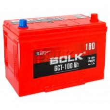 BOLK Азия 100 A/h Пусковой ток EN800А Обратный-+