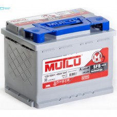Mutlu SFB 55 A/h Пусковой ток EN450А Обратный  -+