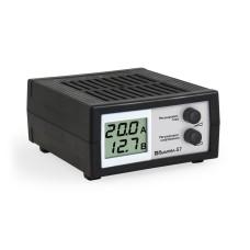 Зарядное устройство Вымпел 57, автомат,0-20А, 7,4-18В, ЖК индикатор