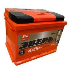 Аккумулятор Зверь EFB 65 Ah Прямой[+-]