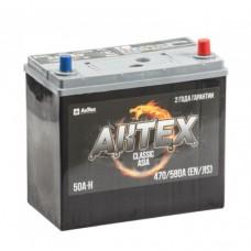 АКТЕХ CLASSIC 50 A/h Пусковой ток EN470А Обратный-+