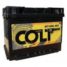 Аккумулятор COLT 60Ah Обратный[-+]