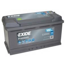 Аккумулятор EXIDE Premium 100 Ah Обратный[-+]