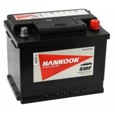 HANKOOK 60 A/h Пусковой ток EN510А Обратный-+ низкий