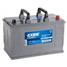 Exide Professional Power 120 A/h  Пусковой ток EN870А Обратный-+