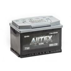 АКТЕХ CLASSIC 77 A/h Пусковой ток EN750А Обратный+-