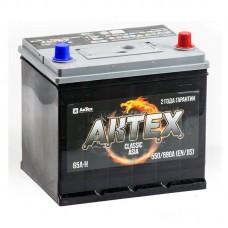 АКТЕХ CLASSIC ASIA 65 A/h Пусковой ток EN680А Обратный-+