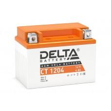 Аккумулятор Delta CT 1204 (YTX4L-BS) 12V 4Аh AGM